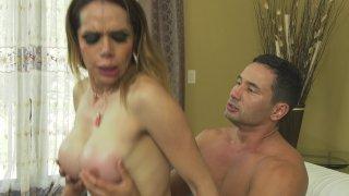 Streaming porn video still #8 from Transsexual Monster Cocks