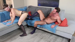 Streaming porn video still #4 from Nylon Daddies